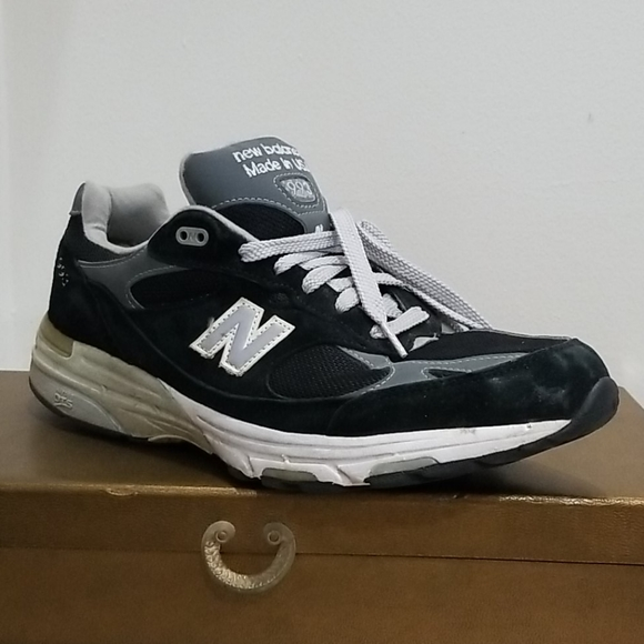 new balance 993 mens black